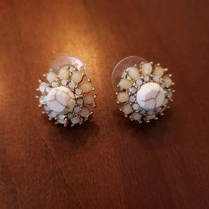 Flower Pattern Earrings